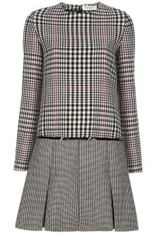 Yves Saint Laurent Check Dress - Lyst