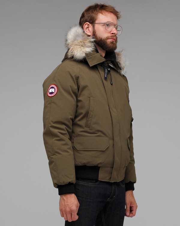 canada goose bomber khaki