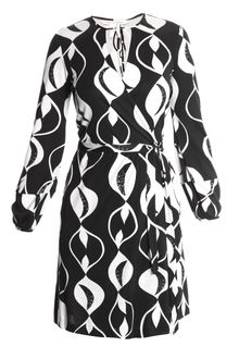 Black Wrap Dress on Exclusive Nove Silk Wrap Dress In Multicolor  Multi    Lyst