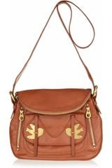 Marc By Marc Jacobs Natasha Petal To The Metal Leather Shoulder Bag - Lyst