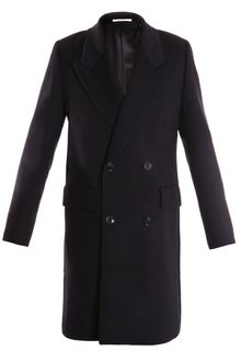 Paul Smith Double-breasted Overcoat - Lyst