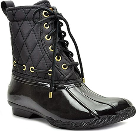 Luxury Women39s Crocs Allcast Leather Duck Boot BlackLight Grey  15534047