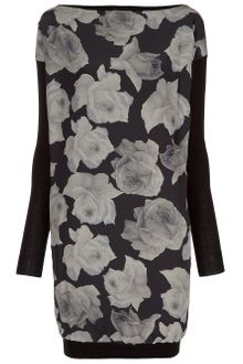 Lanvin Printed Dress - Lyst