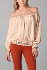 Madison Marcus Mystify Off Shoulder Blouse - Lyst