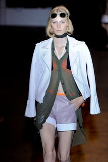 Rag & Bone Spring 2012 Chiffon Long Shirt - Lyst
