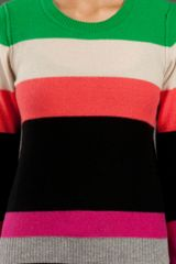 Sonia By Sonia Rykiel Striped Sweater in Multicolor (multicolour) - Lyst