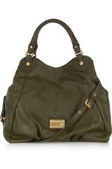 Marc By Marc Jacobs Francesca Textured-leather Tote - Lyst