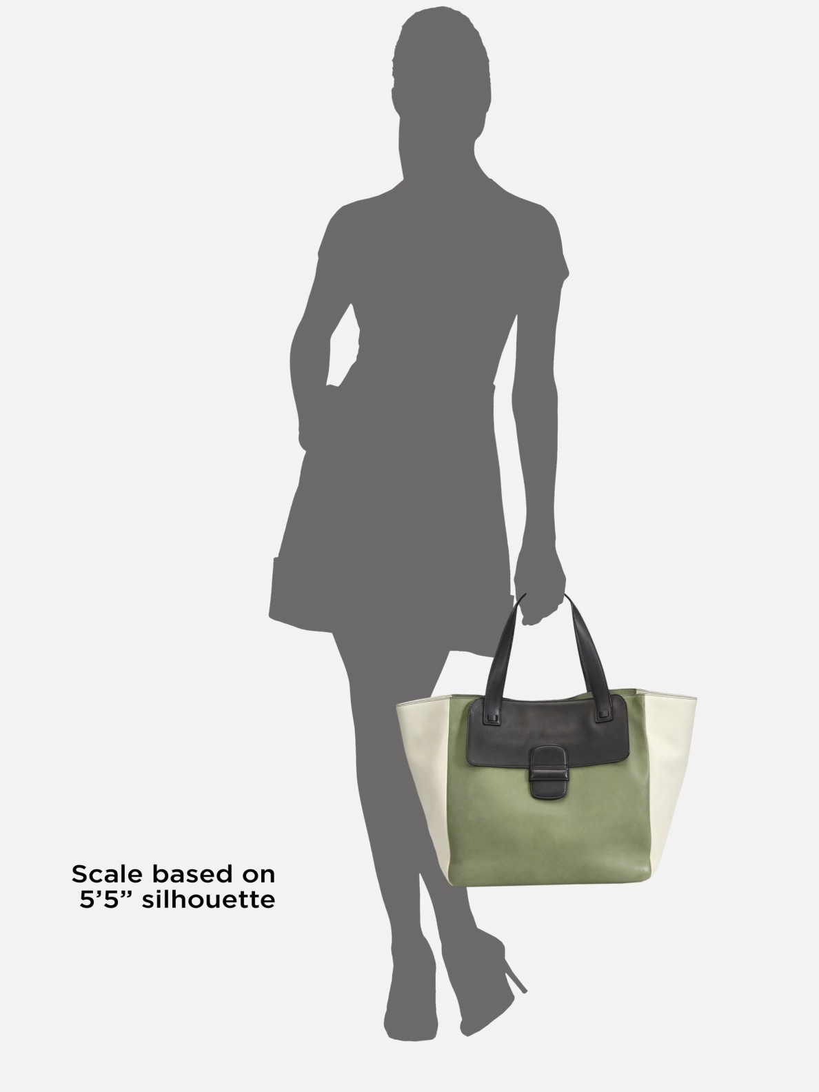 Lyst Marc Jacobs Colorblock Tote Bag In Green
