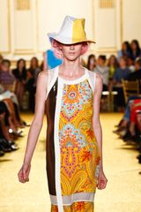 Thakoon Spring 2012 Bollywood Western Print Dress - Lyst