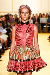 Thakoon Spring 2012 Print Bollywood Western Print Dress - Lyst