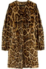 The Row Grentin Animal-print Goat Hair Coat