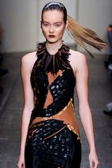 Donna Karan New York Spring 2012 Embellished Maxi Dress