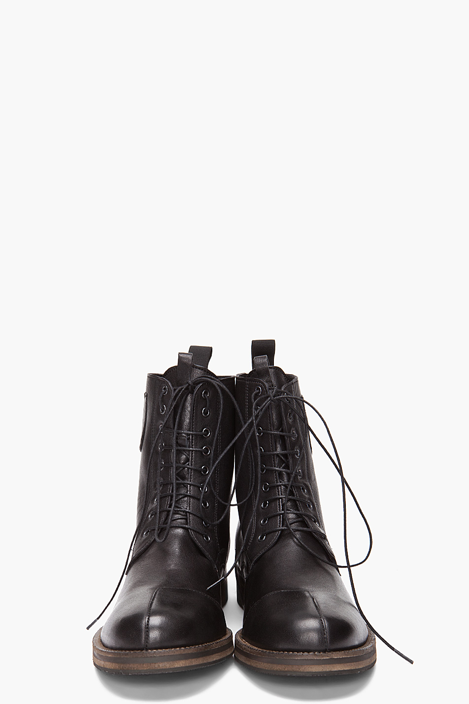 Lyst Fifth Avenue Shoe Repair Boondockers Boots In Black For Men