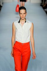 Marc By Marc Jacobs Spring 2012 White Sleeveless Shirt in White - Lyst