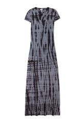 Splendid Twisted Tie Dye Maxi Dress - Lyst