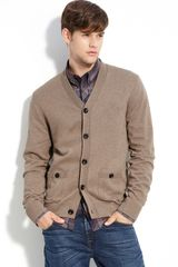 Ben Sherman Old School Cotton Cardigan - Lyst