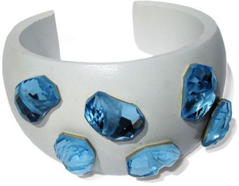 Chic Jewel Couture Diva Cuff - Blue - Lyst