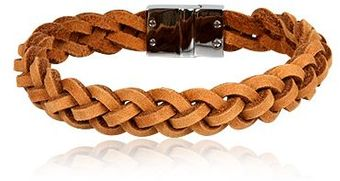 Chic Jewel Couture El- Camel Men´s Leather Bracelet - Lyst