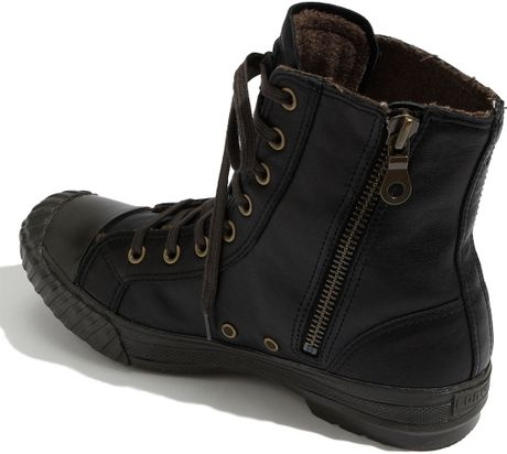 Converse Chuck Taylor 174 Bosey Zip Up Boot Men In Black