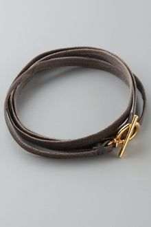 Gorjana Graham Leather Wrap Bracelet - Lyst