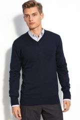 Hugo Sacarolo V-neck Wool Sweater - Lyst