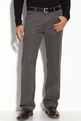 Hugo Boss Boss Black Kansas Straight Leg Cotton Pants - Lyst