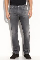 Hugo Boss Boss Black Maine Jeans (grey Wash) - Lyst