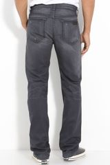 Joe's Classic Straight Leg Jeans (eldridge Grey Wash) - Lyst