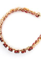 Jolita Jewellery Headband in Red - Lyst