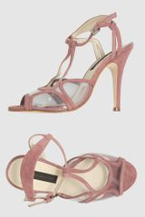 Juan Antonio Lopez High Heeled Sandals in Pink (blue) - Lyst
