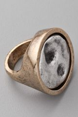 Low Luv X Erin Wasson Cambodian Coin Ring - Lyst