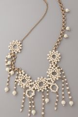 Madewell Enamel Beaded Statement Necklace - Lyst