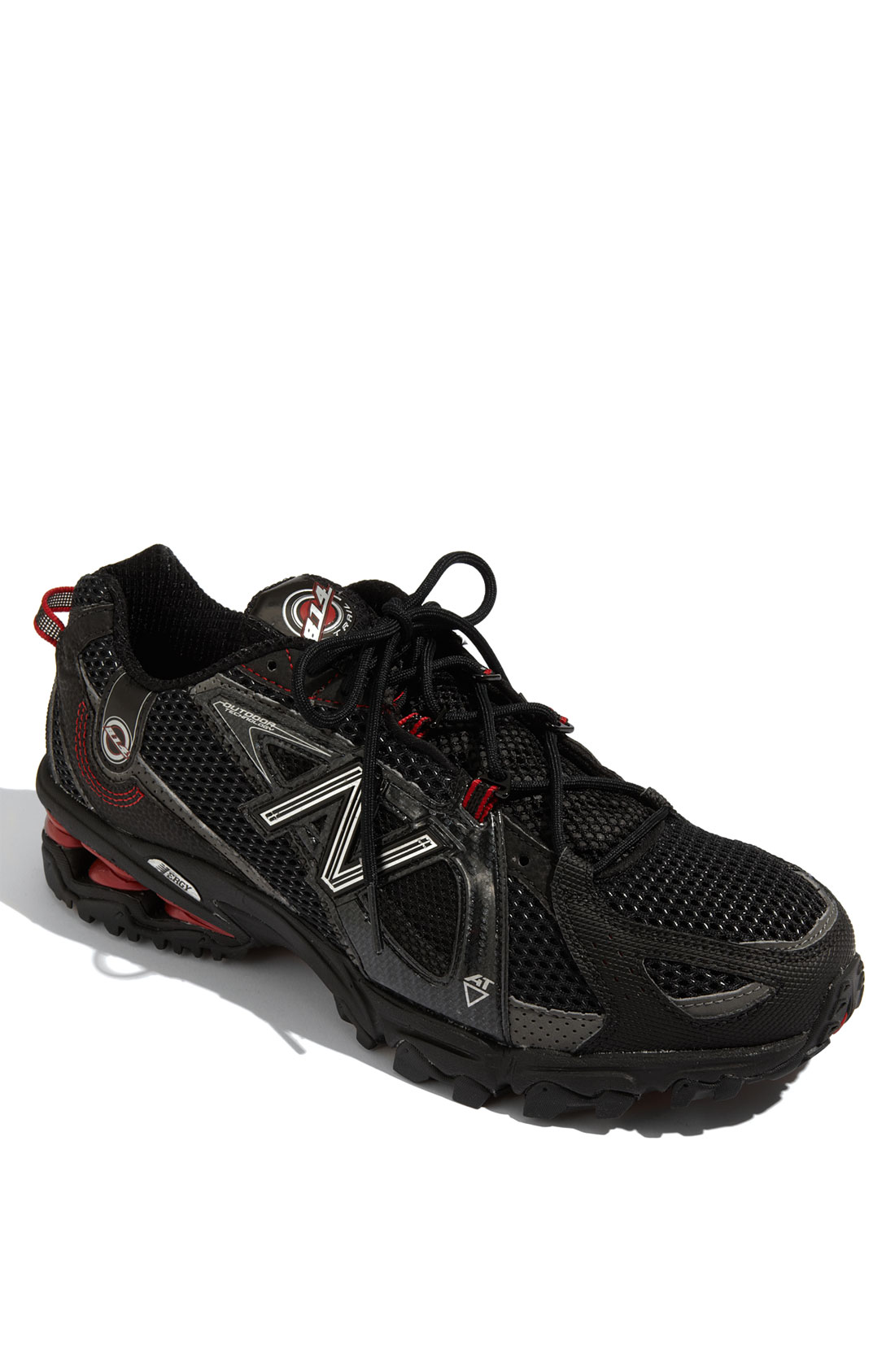 new balance 814 trail running shoe in black for black
