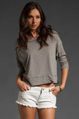Saint Grace Corey Crop Top - Lyst