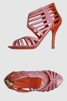 Santoni High Heeled Sandals - Lyst