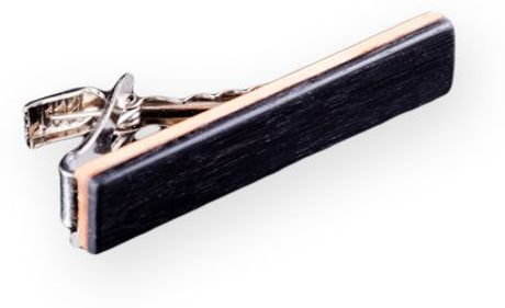 Sticks & Stones Accessories Black Ebony | Tie Bar in Black for Men - Lyst