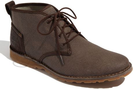 timberland earthkeepers canvas desert boot in brown for men dark brown lyst. Black Bedroom Furniture Sets. Home Design Ideas