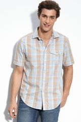 Tommy Bahama Denim Plaid Money Sport Shirt - Lyst