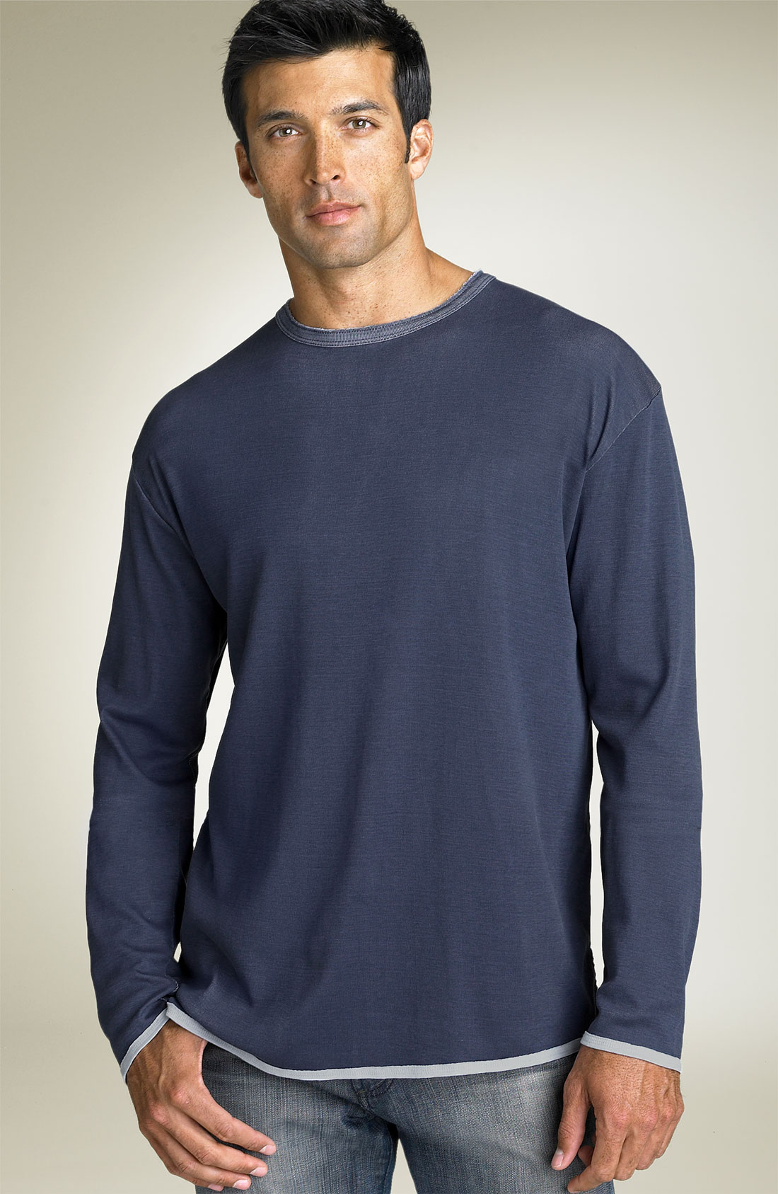 Tommy Bahama Dual In The Sun Long Sleeve Shirt In Blue For