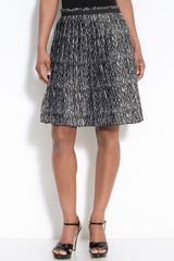 Ak Anne Klein Pleated Skirt - Lyst