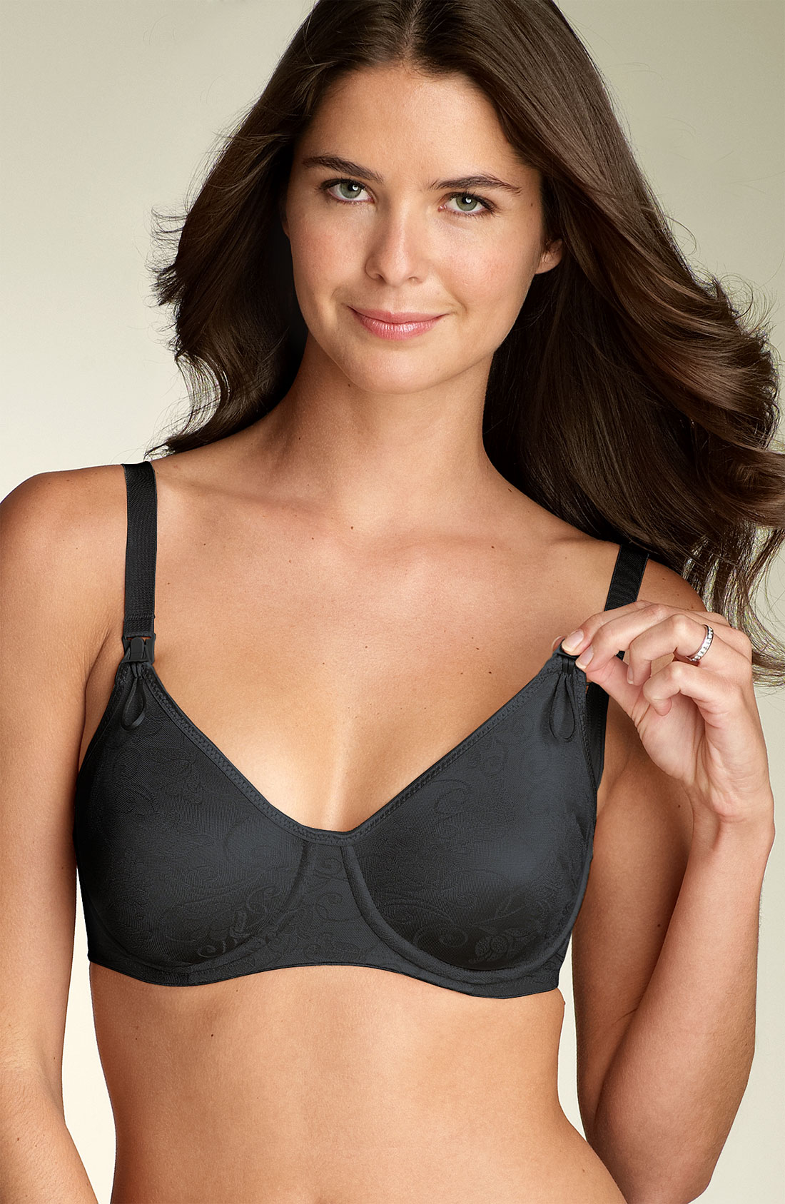 Anita International Underwire Nursing Bra In Black Lyst