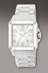 Brera White Ceramic Square Watch - Lyst