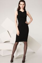 Donna Karan New York Collection Infinity Strapless Matte Jersey Dress - Lyst