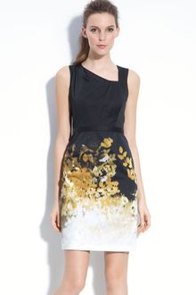 Elie Tahari Exclusive For Nordstrom Havana Dress - Lyst