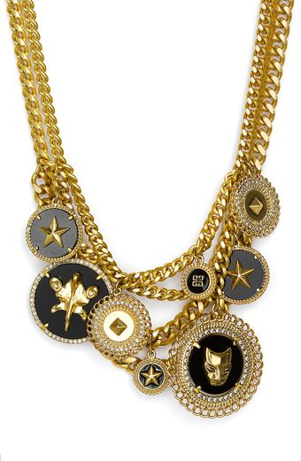 Givenchy Charms Statement Necklace (nordstrom Exclusive) - Lyst
