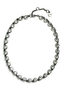 Givenchy Crystal Station Collar Necklace - Lyst