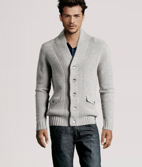 H&m Cardigan in Gray For