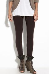 Hue Ultra Wide Waistband Leggings - Lyst