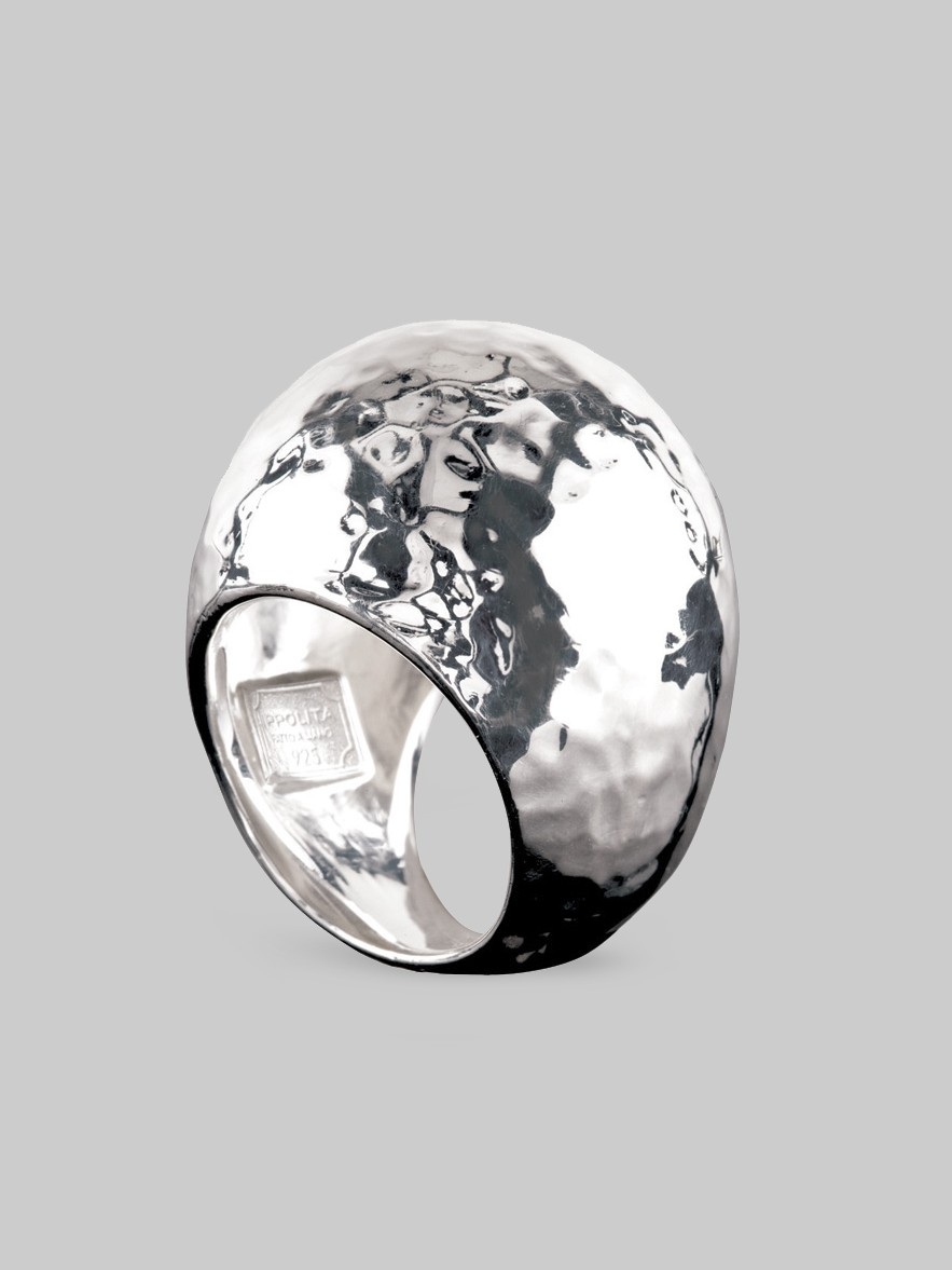 ippolita sterling silver dome ring in silver lyst