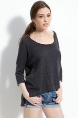 James Perse Boxy Tee - Lyst